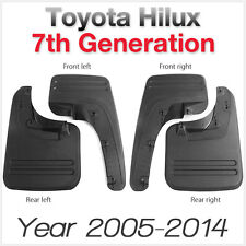 Front Rear Mud Flap Splash Guard For Toyota Hilux 2005-2014 ABS Car Truck Flaps
