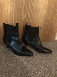 Black Ralph Lauren Ankle Boots