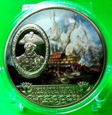 HORATIO NELSON BATTLE OF TRAFALGAR COMMEMORATIVE COIN PROOF VALUE $99.95