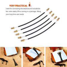 5Pcs Nylon Tailgut Tail Gut Tailcord Replacement Fitting Set for 3/4 4/4 Violin