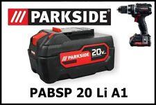 5Ah Bateria Taladro Parkside PAPP 20 B2 20v Battery Drill PABSP 20 Li A1