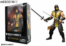 "MEZCO MORTAL KOMBAT X 12"" inch SCORPION DELUXE BOXED ACTION FIGURE 2016"