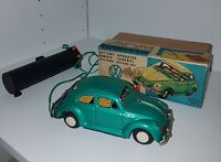 Vintage KO Toys Japan Tin Volkswagon VW Battery Operated Mint In Box