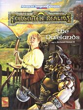 FORGOTTEN REALMS THE DALELANDS +MAP FRS1 VF+/NM TSR 9392 AD&D D&D