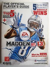 Madden NFL 13 The Official Players Game Guide Gamer Media tips Fantasy Football