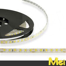 BN01 striscia LED 24V luce CALDA 3000K 120 SMD 2835 IP65 IMPERMEABILE 5MT