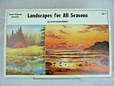 LANDSCAPES FOR ALL SEASONS Vol. 2 by Carol Binford 1984 Art Lessons