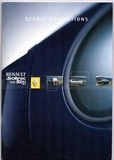 Renault Scenic & RX4 2002 UK Market Sales Brochure