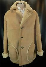 Nordstrom SHEARLING Sheepskin Fur Lined Western Jacket Coat 42 M L
