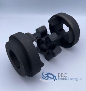 HRC Shaft Coupling c/w Taper Bushes & Rubber Element