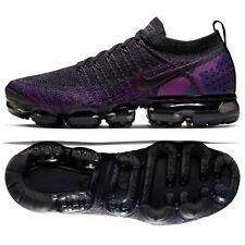 93ba49b806 Nike Air VaporMax Flyknit 2 Midnight Purple/Black 942842-013 Men's Shoes ...