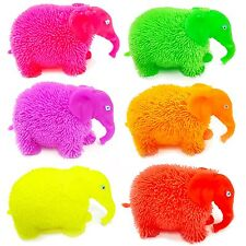 Flashing Puffer Elephant Squidgy Sensory Toy - Fidget Stress Sensory Autism