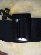 "NEW LOOK Ladies black elastic belt size one 35"""