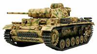 Tamiya 32524 1/48 Scale Model Tank Kit German Panzer Panzerkampfwagen Ausf.L III