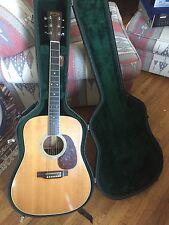 Custom shop 2000 Martin Acoustic/electric? Guitar mahogany limited #/250 OHSC