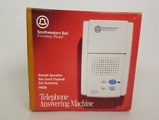 Southwestern Bell Freedom Phone Telephone Answering Machine FA936 Microcassette