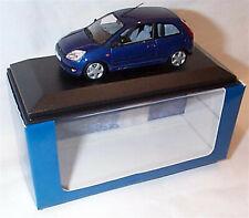 Ford Fiesta MK5 3 Door in Dark Blue 1-43 scale Minichamps new in Case boxed