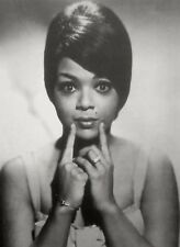 TAMMI TERRELL clipping Real Thing sexy Motown beauty mark B&W photo 1960s rings
