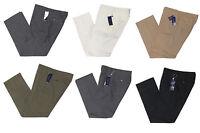 $595 Ralph Lauren Purple Label Mens Italy Flat Front Wool Dress Pants New
