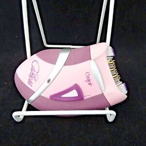 Emjoi Soft Caress Epilator 36 Tweezer Disc Hair Remover AP-10R Pink Travel Pouch