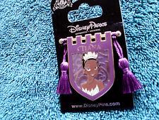 Disney * PRINCESS TIANA * Tapestry Banner Series * New on Card Trading Pin