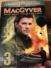 MacGyver Complete Season 3, 6-Disc Set Used