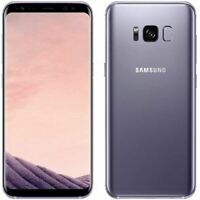 Samsung Galaxy S8 Plus SM-G955 64GB Unlocked Smartphone Orchid Grey - Excellent