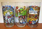 3 Muppet Caper Henson McDonald's Glasses ~ Miss Piggy, Kermit, Happiness Hotel