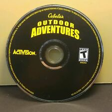 Cabela's Outdoor Adventures (PC) Excellent Condition #011 Disc Only (NO CODE)