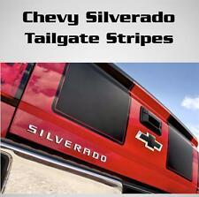 Chevy Silverado Gmc Seirra Tailgate Racing Stripes Vinyl Decal Sticker All Years