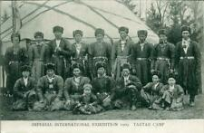 PRINTED POSTCARD OF THE IMPERIAL INTERNATIONAL EXHIBITION 1909 TARTAR CAMP