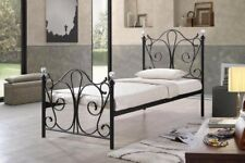 3FT SINGLE SHERRY METAL BED  Available In White And Black