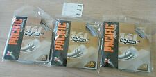 NEW Pacific Poly Force 16L Gauge Racquet String Set of 3 Packaged Silver Coils
