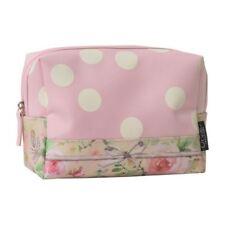 ORVAL petit Toiletry Bag Make up Travel Case Étui de rangement Rose Cottage Design