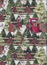 Christmas Pickup curtain valance