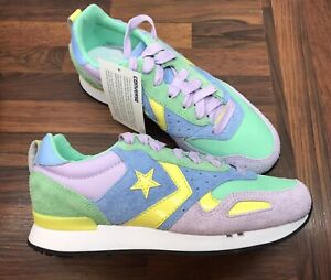 Mens Unboxed Limited Edition American Converse Malden Racer OX Trainers Size 9