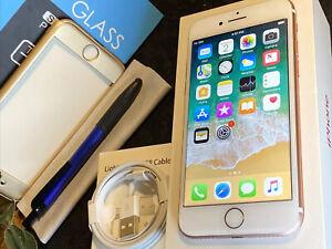 Apple iPhone 7 (32gb) Cricket/ AT&T/ rSim Unlock (A1778) Rose Gold {iOS11}100%