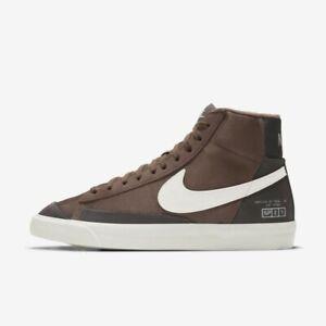 New Nike Women's Blazer Mid '77 'Coffee' Shoes (DD5332-244) - Brown/ Mahogany