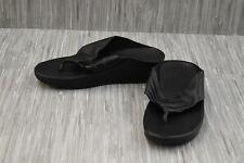 **Fitflop Twist V16-001-070 Sandals, Women's Size 9, Black Leather