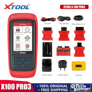 XTOOL X100 PRO3 Car OBD2 Scanner Auto IMMO Key Programming&Coding ABS Diagnostic