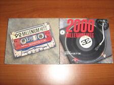 2 DOPPI CD 90 MILLENIUM HITS + 2000 MILLENIUM HITS SIGILLATI COMPILATION DANCE