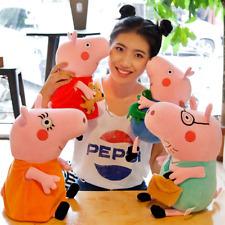 4 Peppa Pig Schweine Peppa Wutz Familie Plüschtiere Plüsch Plush Puppe Stofftier