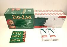 600 ZIG ZAG ROLLING PAPERS + 600 SWAN MENTHOL EXTRA SLIM FILTER TIPS - ORIGINAL