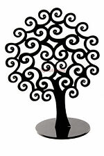"""Jewellery Earring Ear rings Butti Tree Display stand 8""""x6""""  Pack of 1pc Black"""