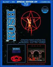 RUSH - 2112/MOVING PICTURES NEW BLU-RAY