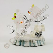 Jolly Ice Fella Snowman Couple 13cm