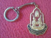 LLAVERO KEYRING PORTE-CLÉS KEYCHAIN THAILAND THAILANDIA 1982 RATTANAKOSIN SIAM..