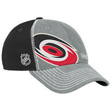 outlet store 32c5e d4285 Carolina Hurricanes Reebok NHL Draft Cap Hat Gray Center Ice Collection  Hockey