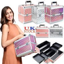 Extra Large Vanity Case Beauty Box Make Up Organiser Cosmetic Nail Art Storage