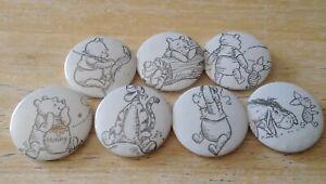Winnie The Pooh Badges (Set B)